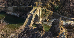Teufel ` s Brücke Stockfoto