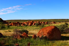 Teufel ` s Marmore, Nordterritorium Lizenzfreies Stockfoto