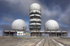 Teufelsberg Radarowa stacja blisko Berlin obraz royalty free