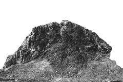 Teuflischer Felsen mit versteinerten Bildern eingefroren im Stein lizenzfreie stockfotos