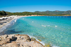 Teulada beach Stock Image