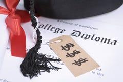 Teure Ausbildung Lizenzfreies Stockbild
