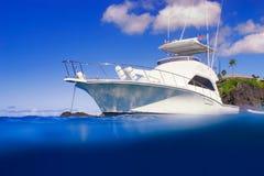 Teure Yacht Stockbilder