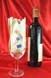 Teurer Wein Stockfoto