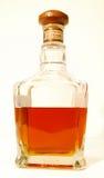 Teurer Whisky und Glas Stockfotos