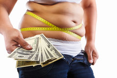 Teures Diätprogramm Lizenzfreies Stockfoto