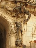 Teutonic статуя рыцаря Стоковое Изображение RF