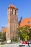 Teutonic castle in Kwidzyn, Poland Stock Photos