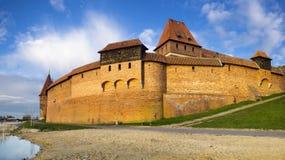 Teutonic Castle in Malbork in Pomerania (Poland) Royalty Free Stock Image