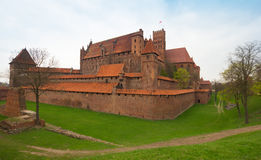 Teutonic castle Malbork in Pomerania region of Poland. Stock Photo