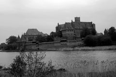 Teutonic castle Stock Image