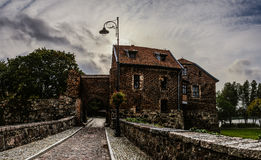Teutonic castle in Sztum, Poland Royalty Free Stock Photography