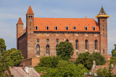 Teutonic castle of the thirteenth century Royalty Free Stock Images