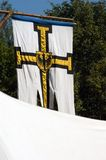 Teutonic flag Royalty Free Stock Photos