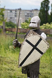 Teutonic knight Royalty Free Stock Photography