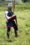Teutonic knight Stock Photography
