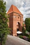 Teutonic Knights Castle in Torun Royalty Free Stock Photo