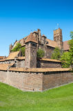Teutonic Knights' fortress Stock Image