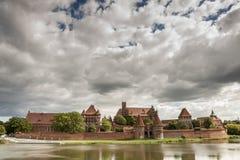 Teutonic Knights in Malbork castle. Stock Image