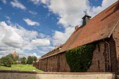 Teutonic Knights in Malbork castle. Stock Photos