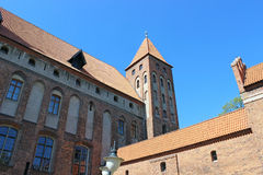 Teutonic Order castle Stock Photo