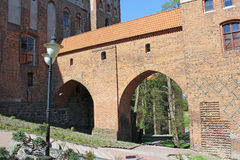 Teutonic Order castle in kwidzyn Royalty Free Stock Image