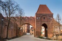 Teutonic slott-monument Unesco  Arkivfoto
