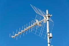 Tevê da antena Fotos de Stock