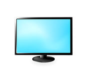 TEVÊ DO LCD Imagens de Stock Royalty Free