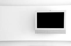 Tevê do LCD Fotografia de Stock