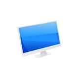 Tevê do LCD do plasma Imagens de Stock