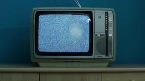 Tevê nenhum sinal video estoque