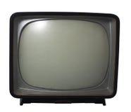 Tevê velha - Conceito da televisão imagens de stock