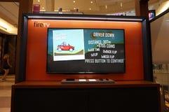 Tevê do fogo das Amazonas com jogo de competência da escalada do monte na exposição Imagens de Stock Royalty Free