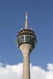 Tevê-Torre de Duesseldorf Fotos de Stock Royalty Free