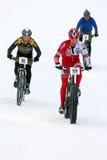 teva χιονιού κριτηρίου ποδηλάτων Στοκ εικόνες με δικαίωμα ελεύθερης χρήσης