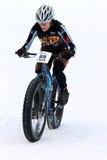teva χιονιού κριτηρίου ποδηλάτων Στοκ Εικόνα
