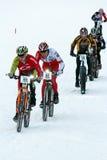 Teva auf Schnee-Fahrrad-Kriterium Stockfoto