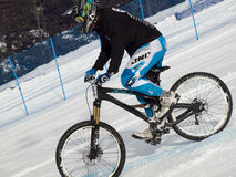 Teva Dual Slalom Bike Stock Images