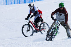 Teva Dual Slalom Bike Royalty Free Stock Photo