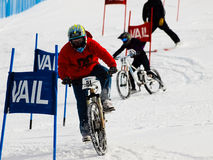 Teva Dual Slalom Bike Royalty Free Stock Photos