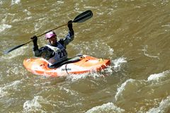 Teva Mountain Games - Kayaking Stock Image