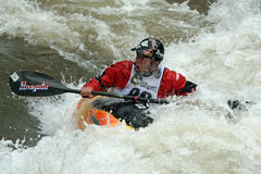 Teva Mt. Games 2011 - Freestyle Kayaking Royalty Free Stock Photography