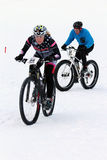 Teva On Snow Bike Criterium Stock Photos