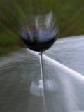 Teveel aan drank - onduidelijk beeld Royalty-vrije Stock Afbeelding