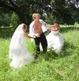 Teveel bruiden Royalty-vrije Stock Foto's