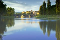 Tevere, Ombrie Photos stock