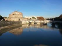 Tevere, Roma Image libre de droits