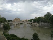 Tevere. Roma, fiume Tevere royalty free stock photography
