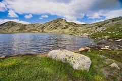 Tevno jezioro przy Pirin górą Zdjęcia Royalty Free